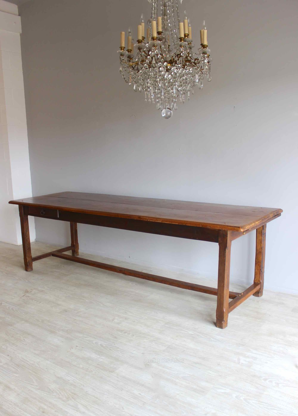Elm 10 Seater French Farmhouse Table Antiques Atlas