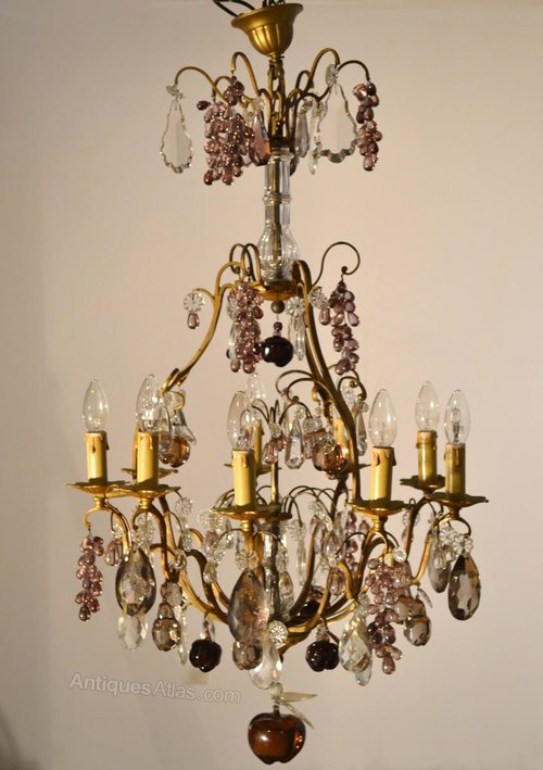 Cute Chandelier with Fruits Decors
