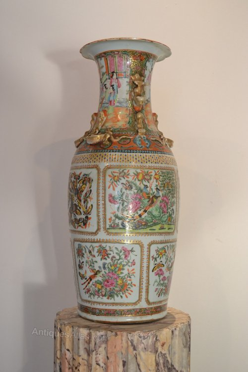 Antiques Atlas Chinese Porcelain Vase Canton Guangzhou