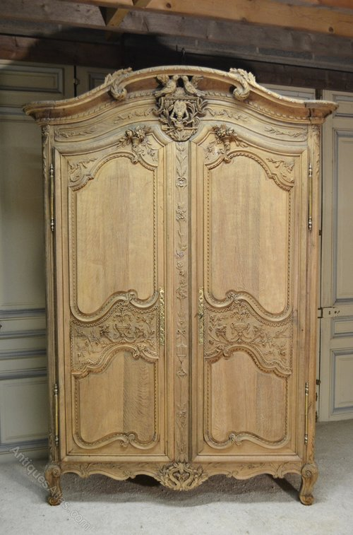 French Armoire Wardrobe Normandy 19th Century Antiques Atlas