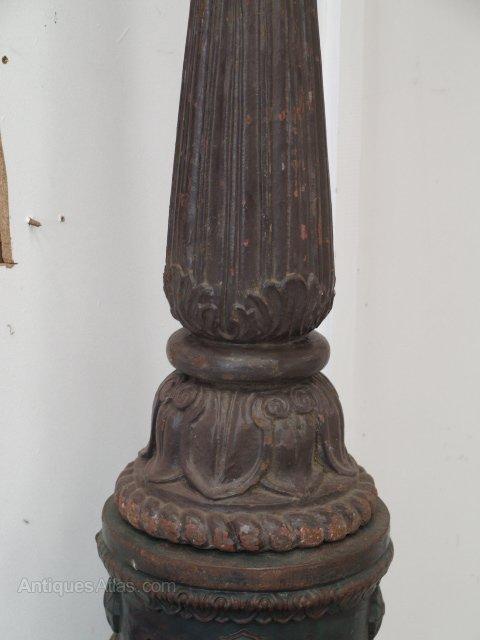 Antiques Atlas Lamp Post Paris