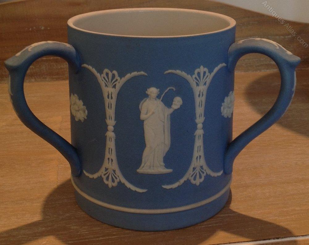 Blue Wedgwood Jasperware