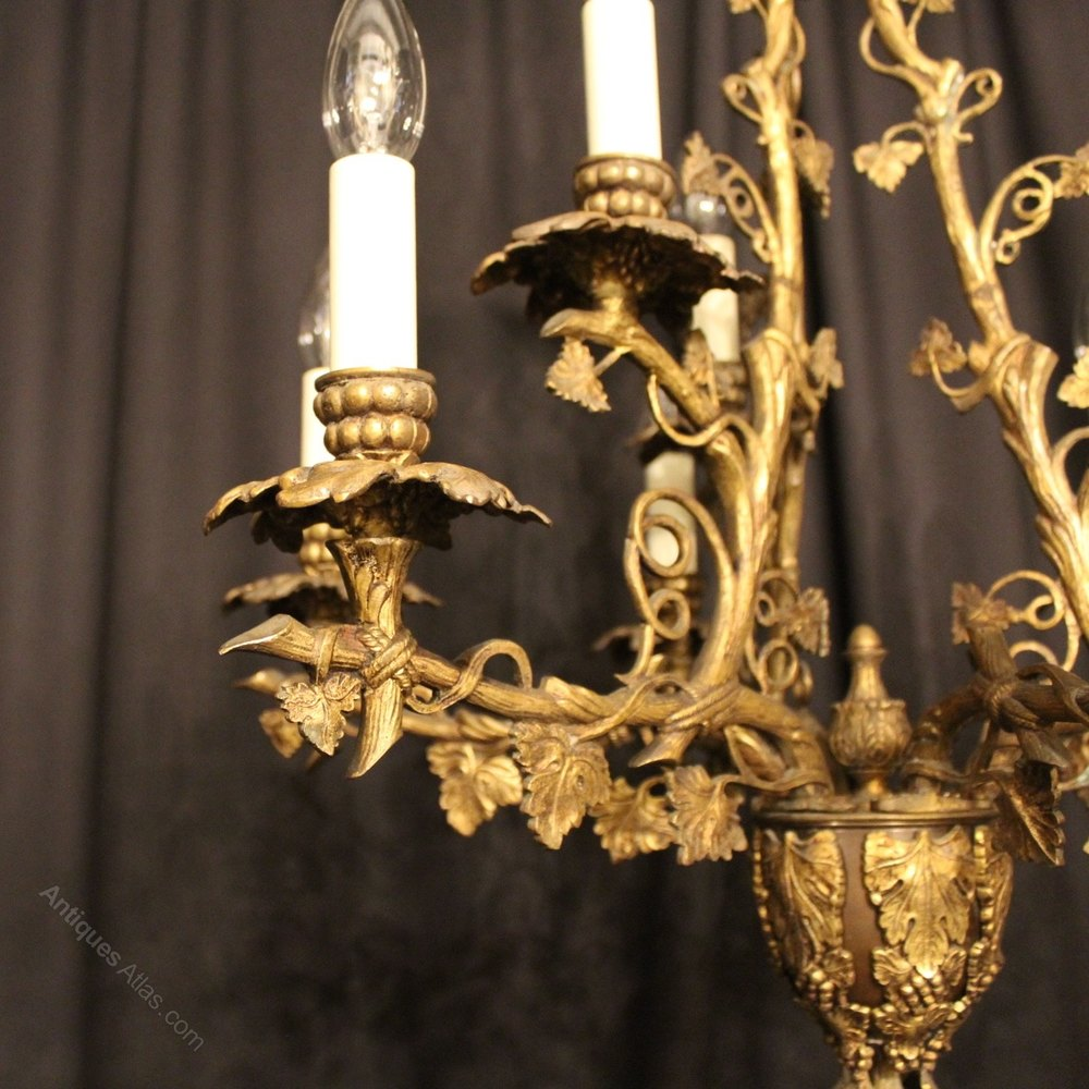 French bronze chandelier light collections light ideas antiques atlas a french bronze 9 light antique chandelier a french bronze 9 light antique chandelier arubaitofo Gallery
