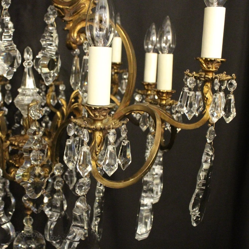 Ideal  Antique French Chandeliers alt