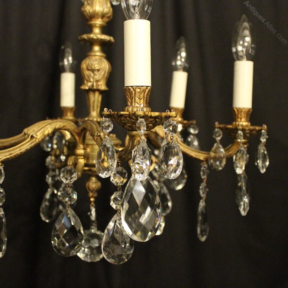 Antiques Atlas French Gilded Bronze 6 Light Antique