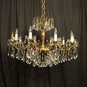 Simple Italian Gilded Light Antiqu