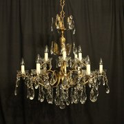 Fresh  uac Vintage French ChandelierJasper Jacks Italian Gilded Light Antiqu