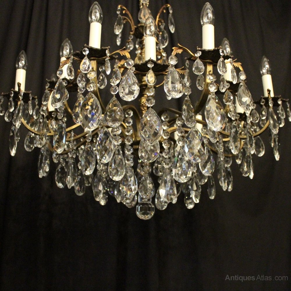 Antiques Atlas Italian Gilded 16 Light Antique Chandelier