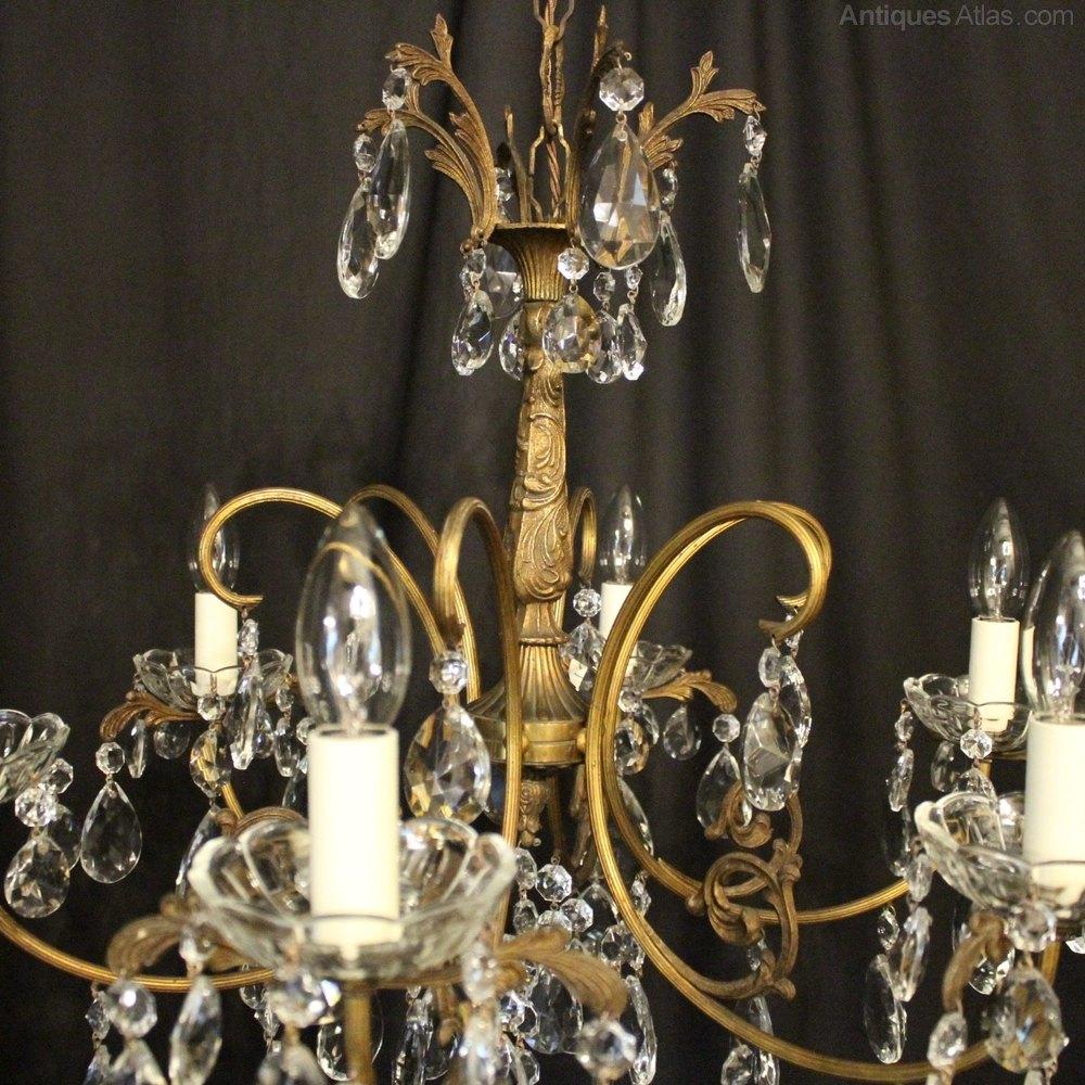 Antiques Atlas Italian Gilded 6 Light Antique Chandelier