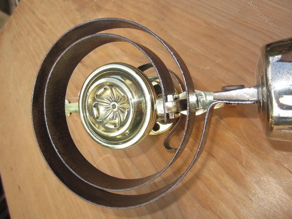Victorian Front Door Bell Pull System Antique Bells