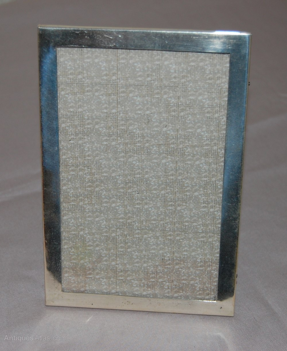 Antiques Atlas - Silver Photo Frame 1925