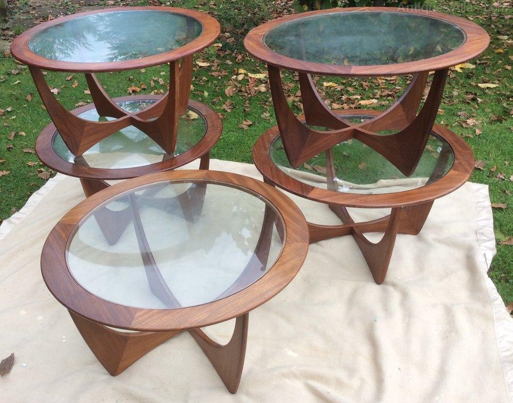 Astro Coffee Table.G Plan Astro Circular Coffee Table