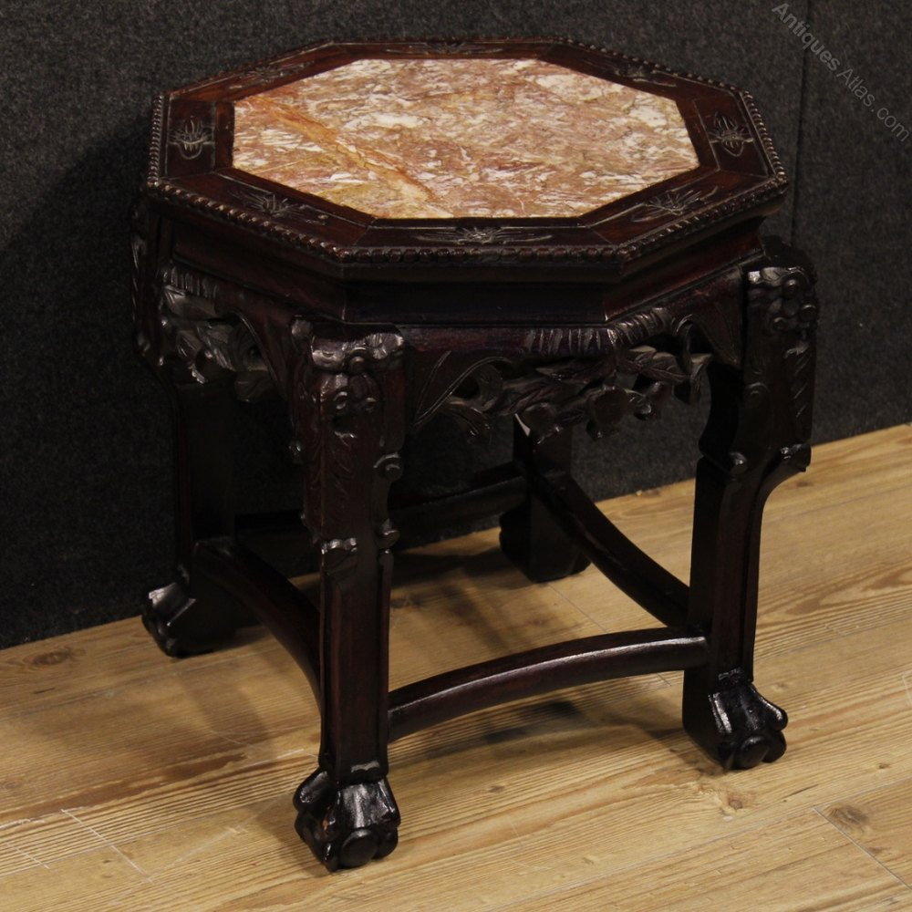Chinese Side Table.Antiques Atlas 20th Century Chinese Side Table In Wood