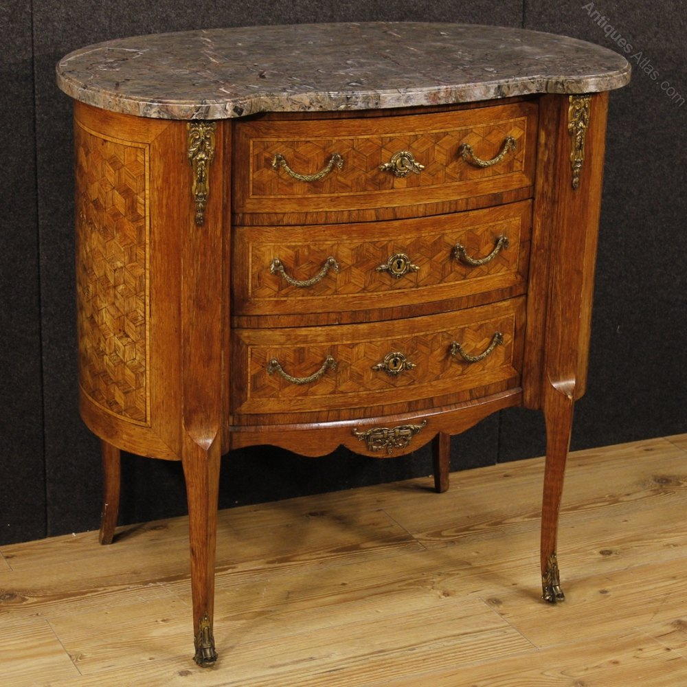 Antiques atlas 20th century french inlaid dresser with - Commode salle a manger ...