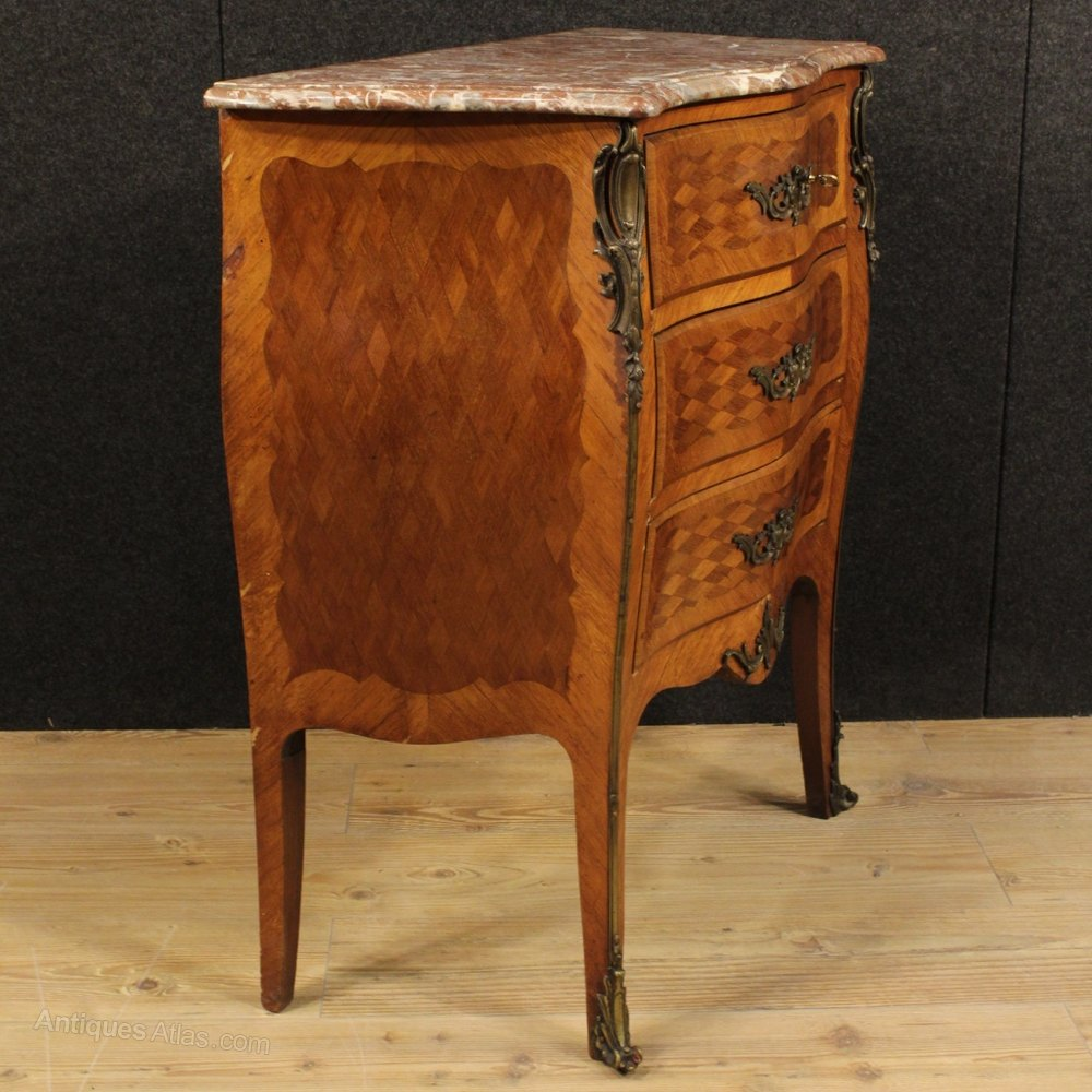 Perfect th Century French Small Dresser With Marble Top Antique Chest of Drawers French Dresser Commode