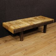 Simple  French Coffee Table Signed By