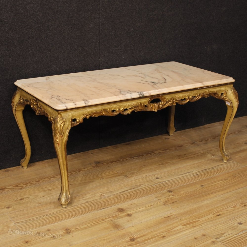 Antiques Atlas Venetian Coffee Table In Lacquered And