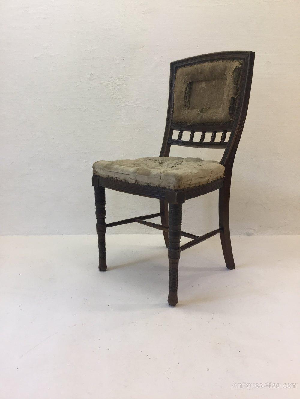 Antique Arts U0026 Crafts Eastlake Chair ...