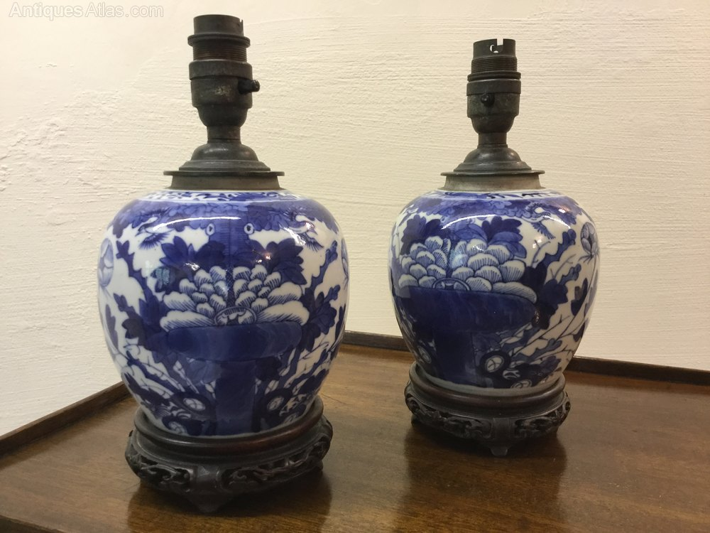 Antiques Atlas Antique Chinese Ginger Jar Lamps