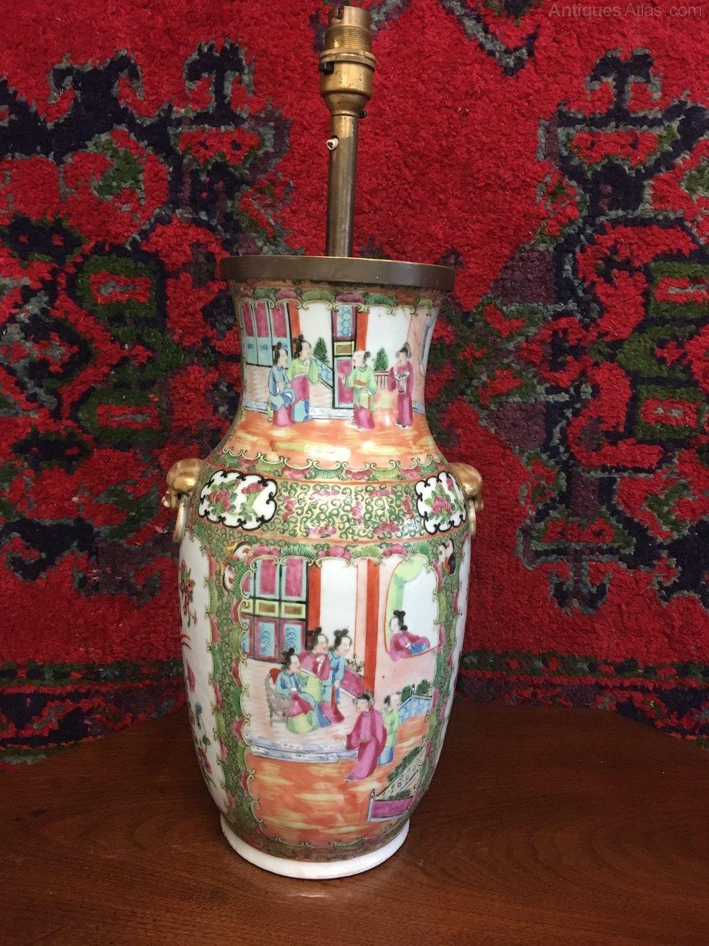 Antiques Atlas Antique Chinese Vase Lamp