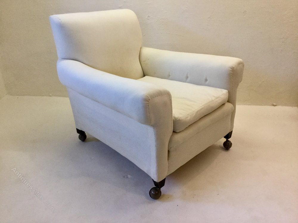 Antique Long Seat Country House Armchair Armchairs Alt5