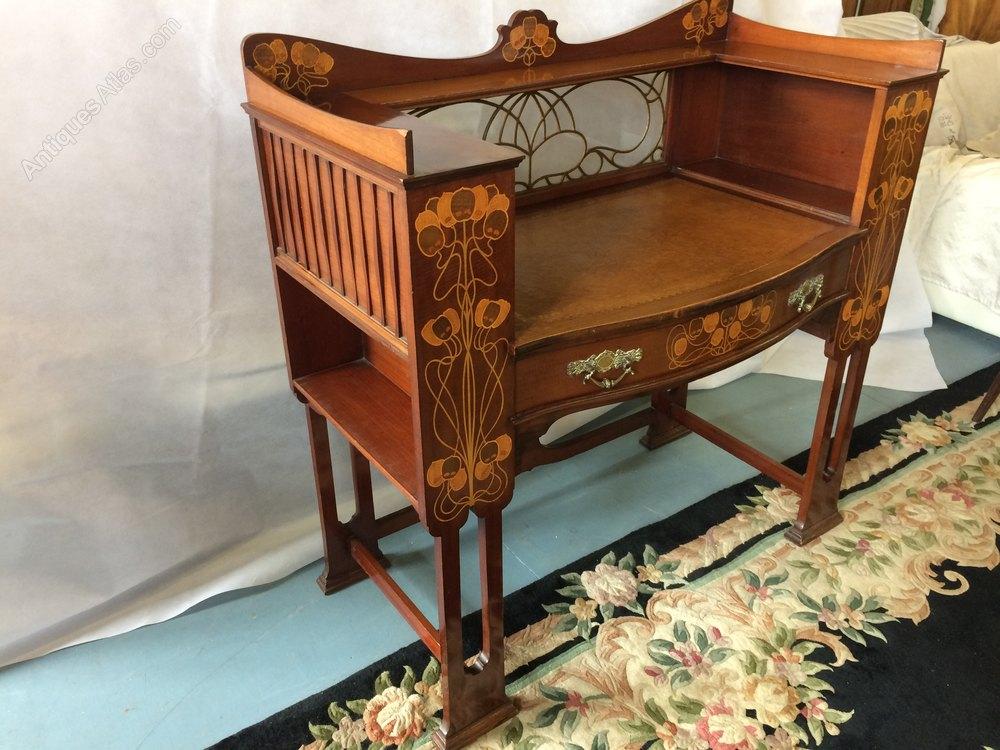 Shapland Amp Petter Art Nouveau Crafts Desk C 1900