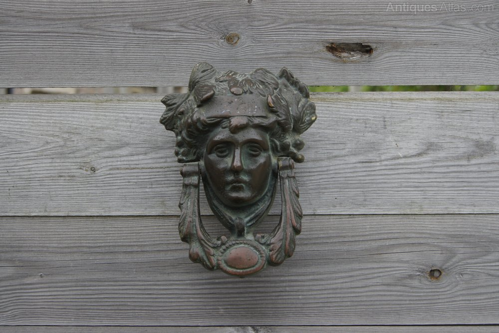 Bronze Victorian Door Knocker Antique Door Knockers ...