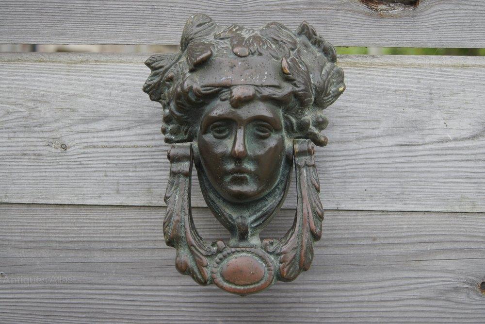 Bronze Victorian Door Knocker ...