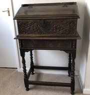 Antiques Antique Edwardian Oak Bible Box Latest Technology