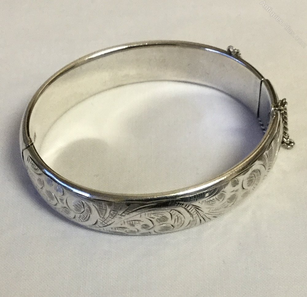 Antiques Atlas Charles Horner Hinged Bangle Chester 1955