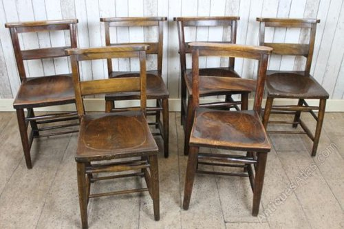 Antique Chapel Chairs Church Chairs Rustic ... - Antiques Atlas - Antique Chapel Chairs Church Chairs Rustic