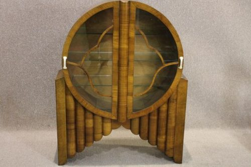 Art Deco Rocket China Cabinet Antiques Atlas