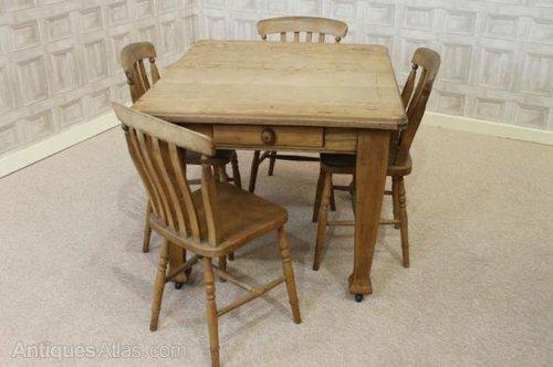 Edwardian Extending Pine Kitchen Table Antiques Atlas