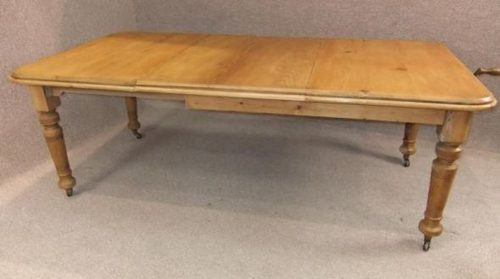 Extending Pine Victorian Table Antique Dining Tables