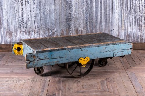 Super Antiques Atlas Industrial Cart Coffee Table Interior Design Ideas Tzicisoteloinfo