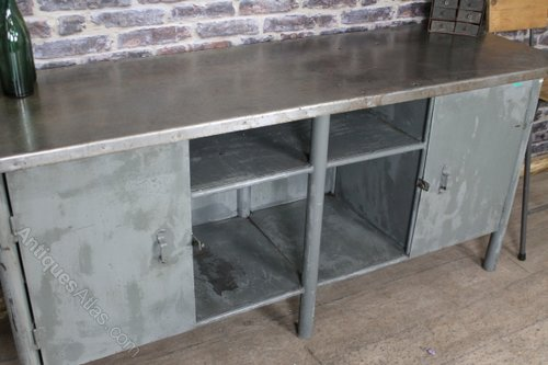 Antiques Atlas Industrial Metal Sideboard Vintage Cabinet