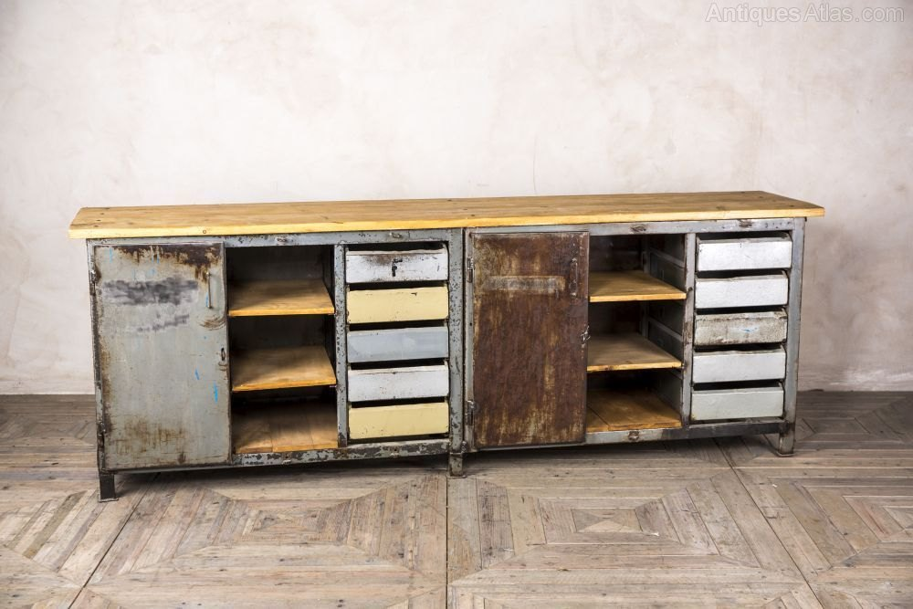 Antiques Atlas Industrial Metal Sideboard