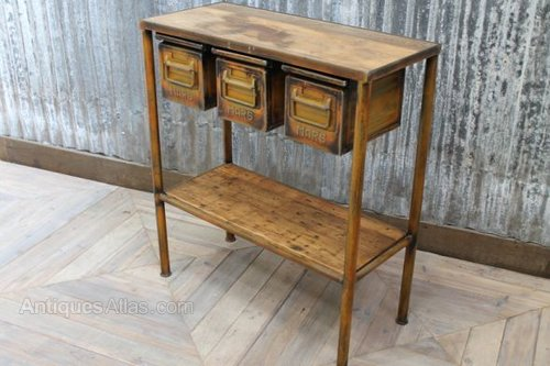Antiques Atlas Industrial Metal And Reclaimed Timber Sideboard