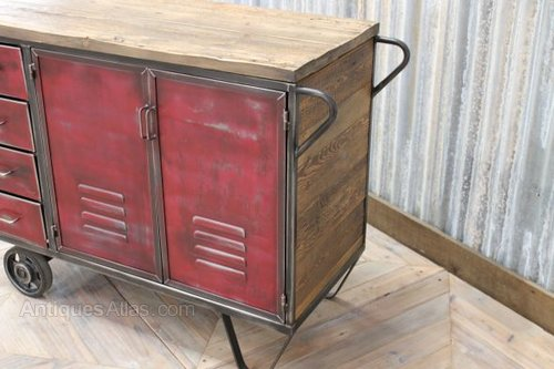 Industrial Red Locker Industrial Cabinets And Lockers Red Locker ...