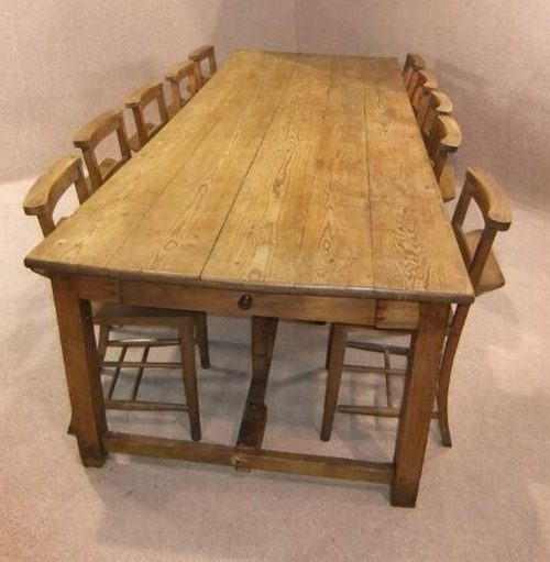 Large Victorian French Farmhouse Table Antiques Atlas