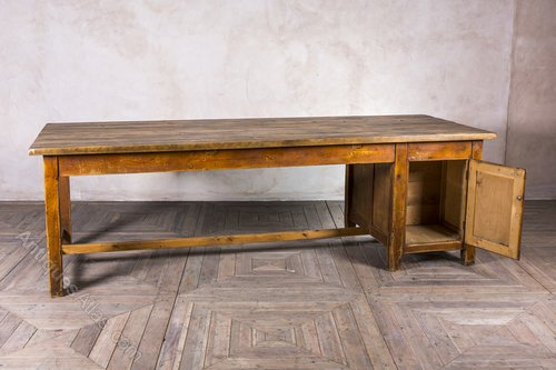 Large Vintage Work Bench Kitchen Table Tables