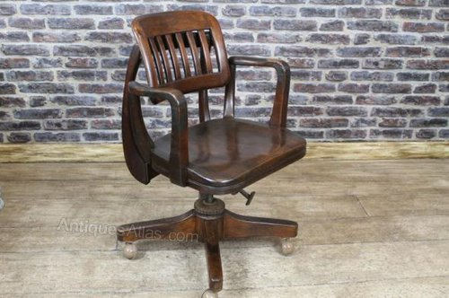antique reclining chair reclining swivel office chair 1920s antiques atlas 1296