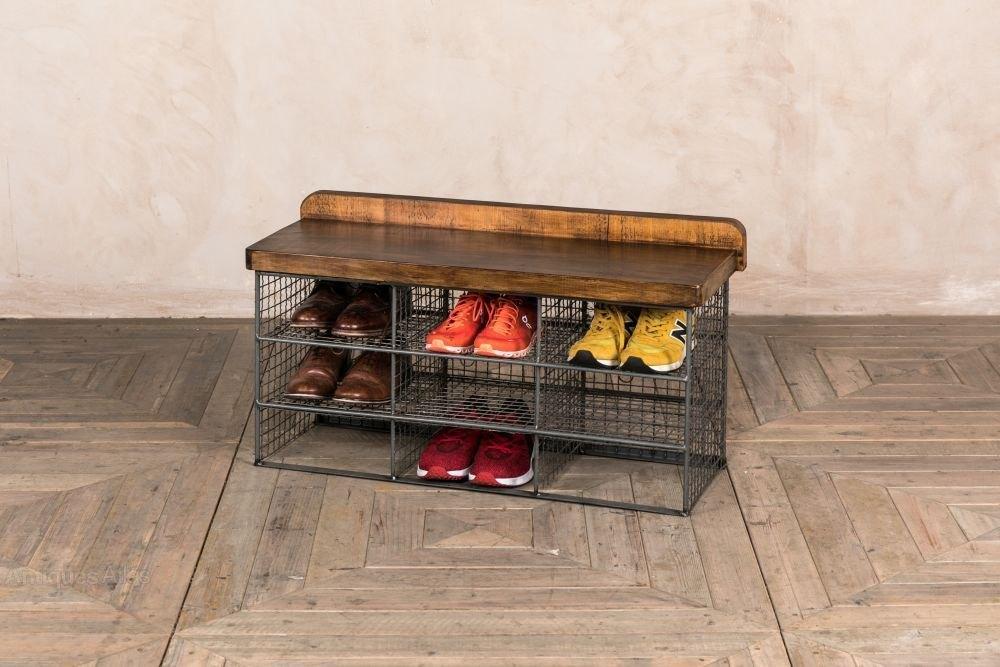 Antiques Atlas Small Vintage Shoe Storage Rack