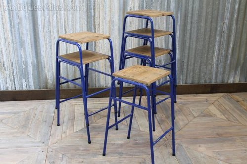 Sensational Stacking Lab Stools Vintage Industrial Bar Stools Beatyapartments Chair Design Images Beatyapartmentscom