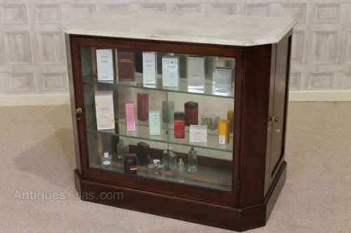 Victorian Mahogany Perfume Cabinet Haberdashery ...