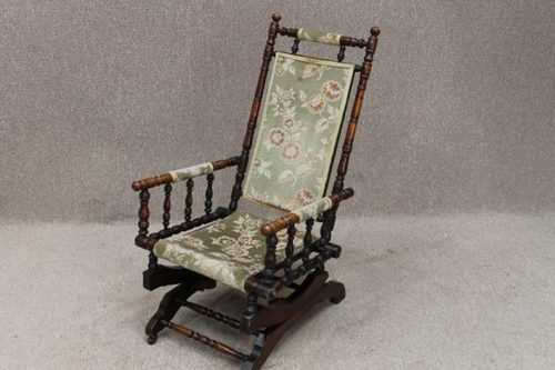 Victorian Rocking Chair Antique ... - Victorian Rocking Chair - Antiques Atlas