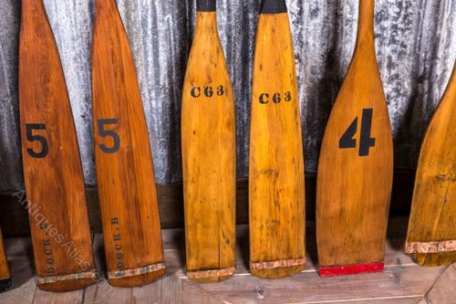 Antiques Atlas Vintage Boating Oars