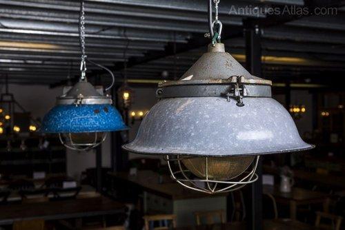 Vintage Factory Pendant Lights