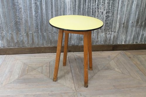 Antiques Atlas Vintage Formica Top Table Round Bar Table