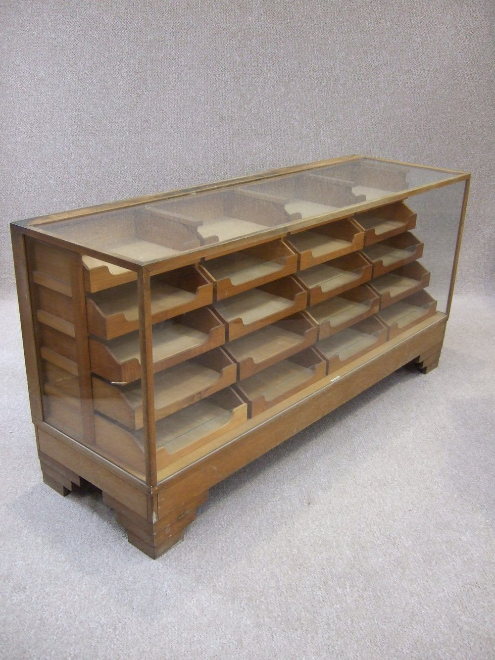 Antiques atlas vintage haberdashery display cabinet for Kitchen drawers for sale